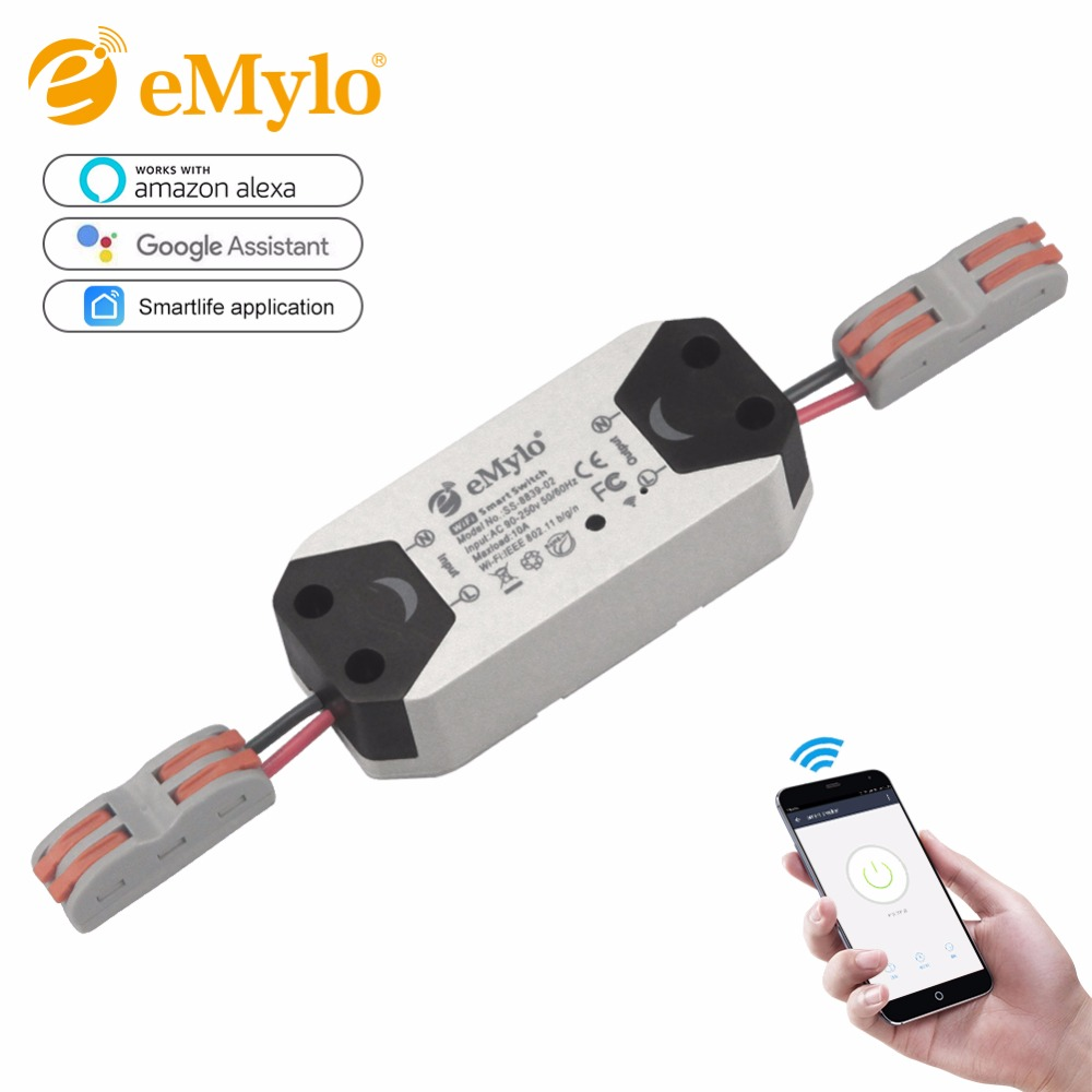 eMylo WIFI Switch Smart Wireless Light Breaker Remote control switch for Household Appliances Electrical via Iphone Android APP