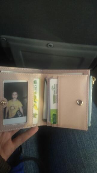 Основной материал:: ПУ; Подкладка Материал:: Полиэстер; небольшой бумажник женщин;