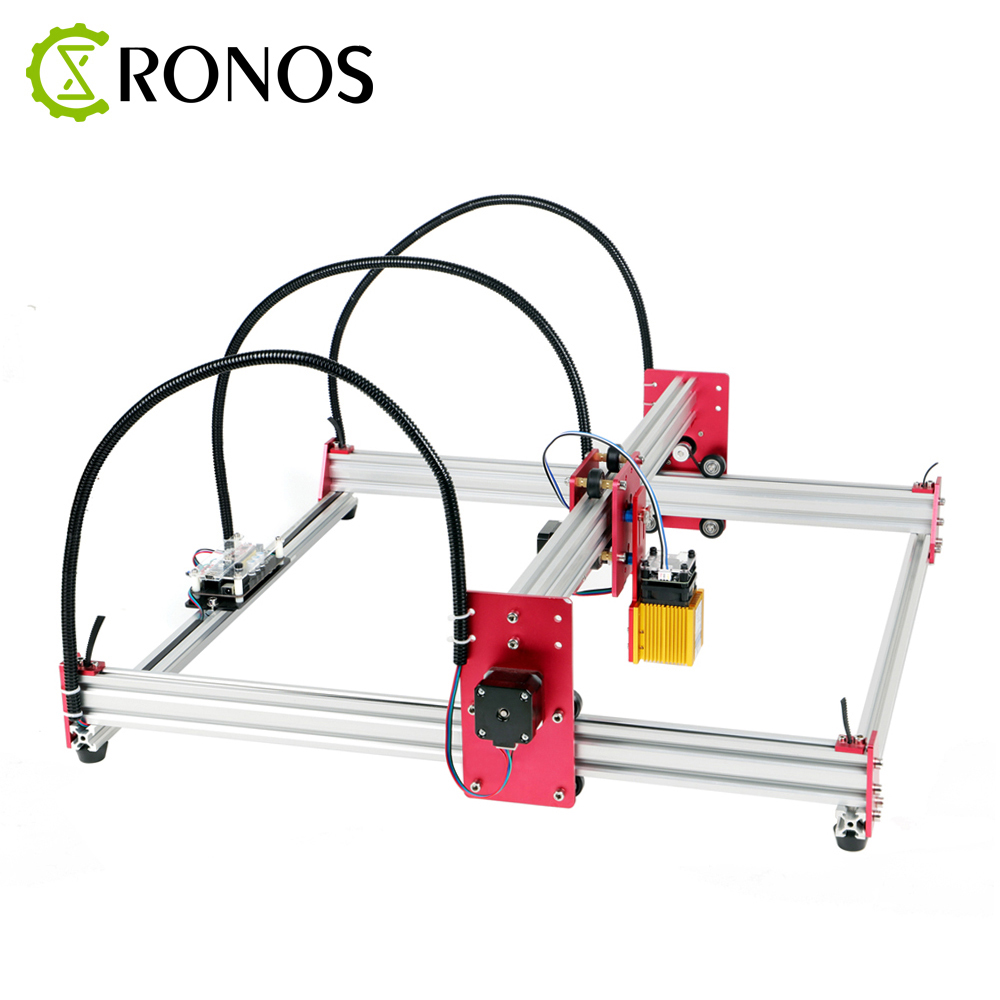 CRONOS 5500mW/15W Laser Engraving Machine and 2Axis Wood Router for Marking Advanced Toys 1
