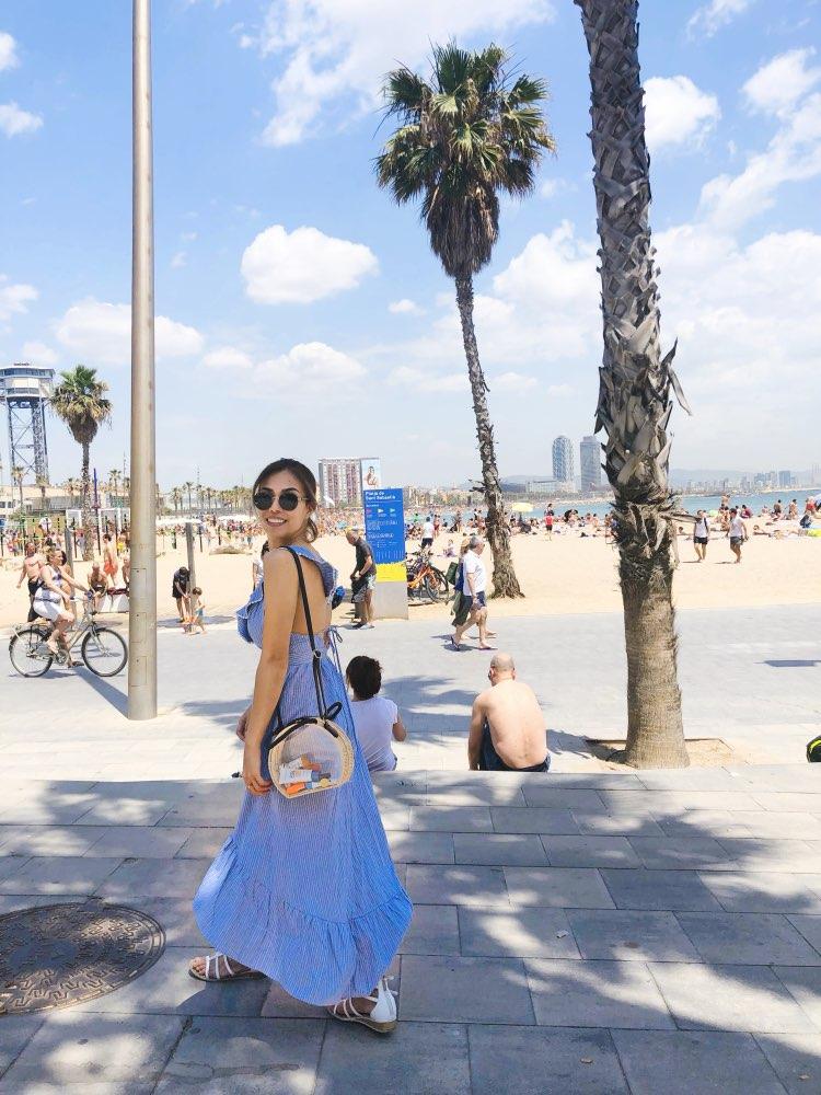 Summer Maxi Dress Women Ruffle Striped Casual Beach Dress Deep V Neck Sexy Backless High Low Asymmetrical Long Dress Robe photo review