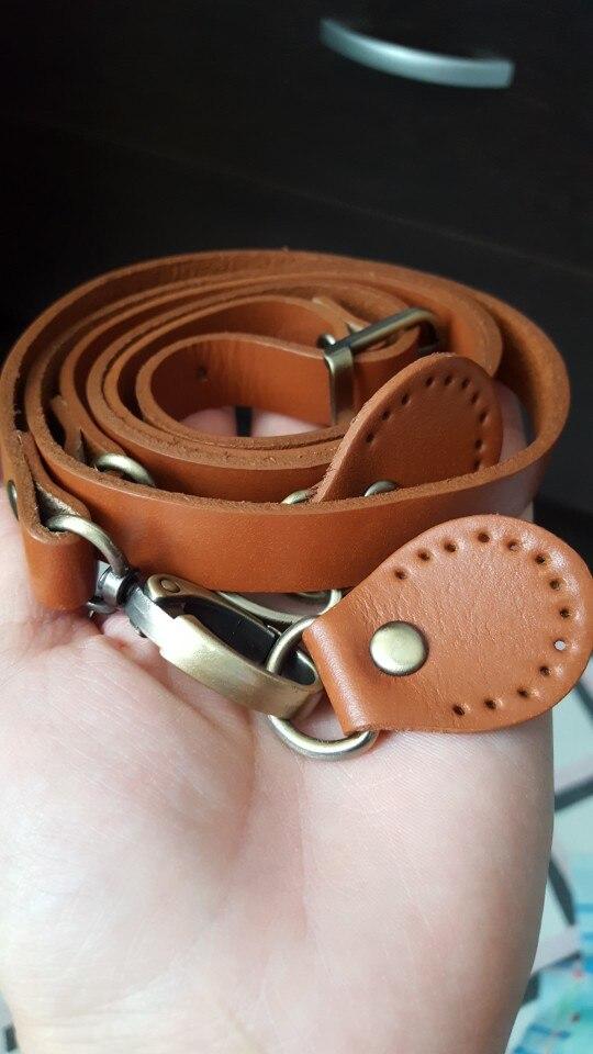 120cm Verstelbare Tas Strap Boom Schors Lederen Handvat Messenger Schoudertas Handvat Gouden Gesp voor Handtas DIY Accessoires KZ0277 photo review