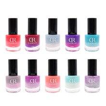 12ml Gradient Nail Gel Polish Temperature Glitter Change Color UV Gel Polish Eco-friendly Varnish Chameleon Nail Gel polish