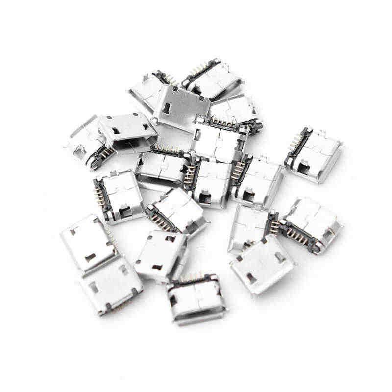 20x Micro USB Type B Nữ 5 pin Vị Trí SMT SMD DIP Ổ Cắm Nối Cắm Adapter Nối Thiết Bị Đầu Cuối