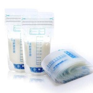 20 Pieces 250ml Milk Freezer Bags Mother Milk Baby Food Storage Breast Milk Storage Bag BPA Free Baby Safe Feeding Bags Feeding(China)