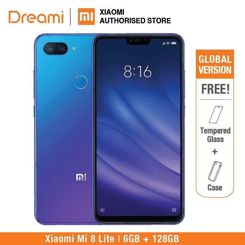 Global Version Xiaomi Mi 8 Lite 128GB Rom 6GB Ram Brand New and Sealed mi8 lite