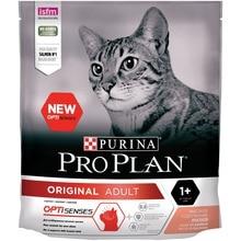 Сухой корм Purina Pro Plan для взрослых кошек от 1 года, с лососем, 8 упаковок по 400 г