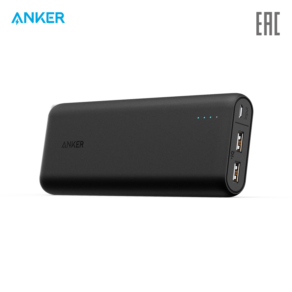 External Battery Pack Anker A1252 charging device charger quick charge anchor anker zolo external battery carbon family