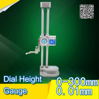 Double beam Dlal Height Gauges Table column with a high degree of foot 0 300mm*0.01mm Vernier Caliper