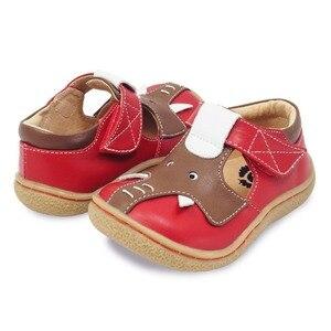 Image 3 - Tipsietoes Barefoot Kinderen Mary Jane Kinderschoenen Jongens Olifant Sneaker Fashion Sport Kind Causale Echt Lederen