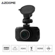 """Azdome GS90A Caliente DVR Del Coche Ambarella A7L50 Car Dash Grabador de Vídeo Cam Full HD 1296 P 30fps 2.7 """"lcd g-sensor HDR Cámara Del Coche GPS H15"""