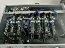 Bykski Mining Machine Water Cooling Mining 6 Graphics Cards Water Cooling Kit GTX1070 1080/GTX1050 1060/RX470 480 Series
