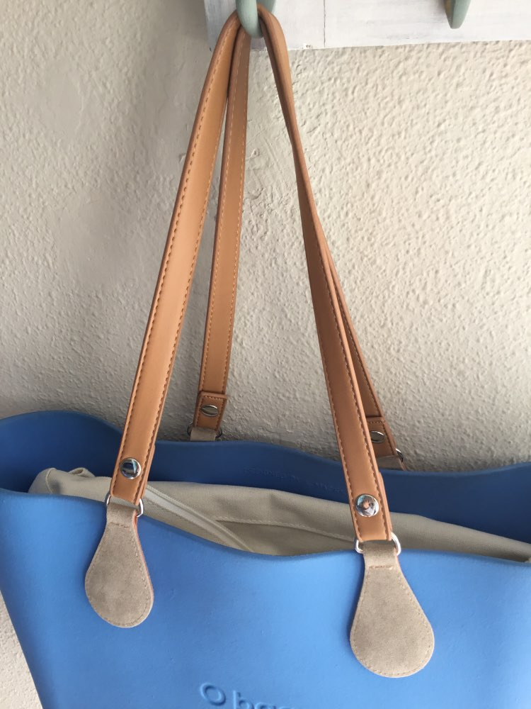 for Obag 1 Pair 70cm PU Leather Handles For O Belt with drops ends photo review