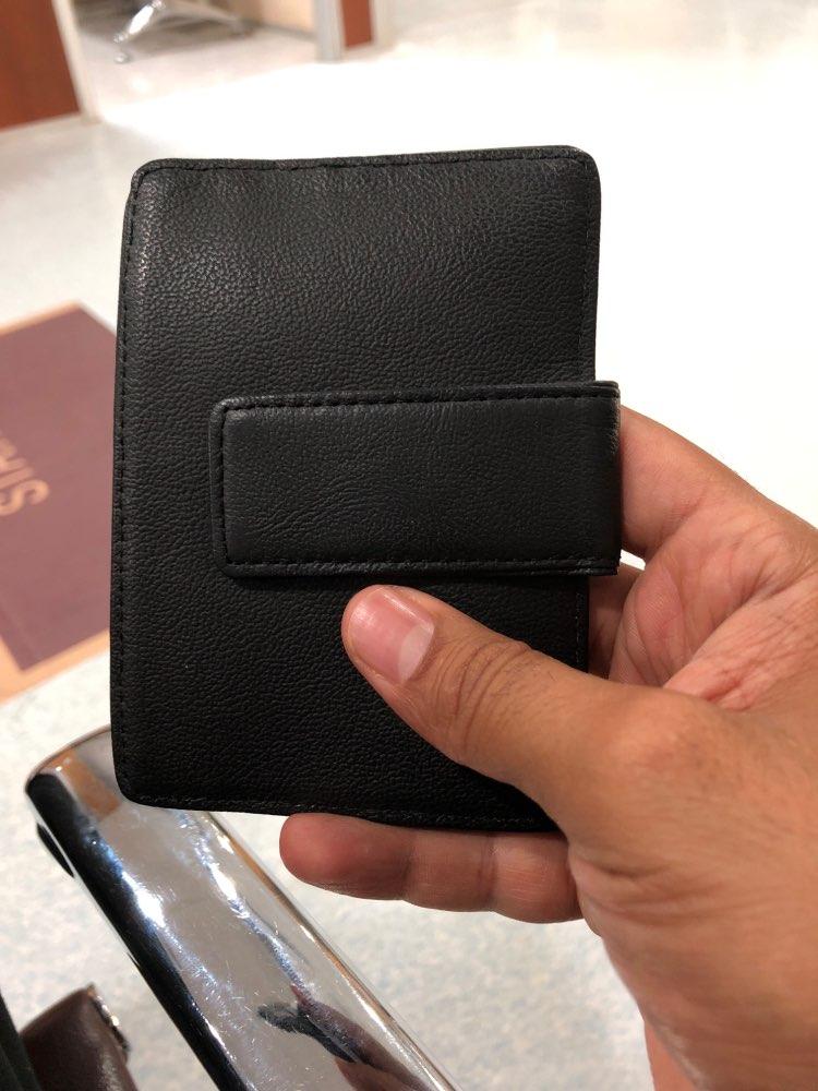 Mannen Echt leer Minimalistische Geld Portemonnee Slim Mini Credit ID Kaarthouder Porte Carte Reizen Kaarthouder Rfid Blocking photo review