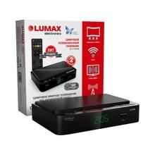 Цифровой телевизионный приемник LUMAX DV2105HD черный