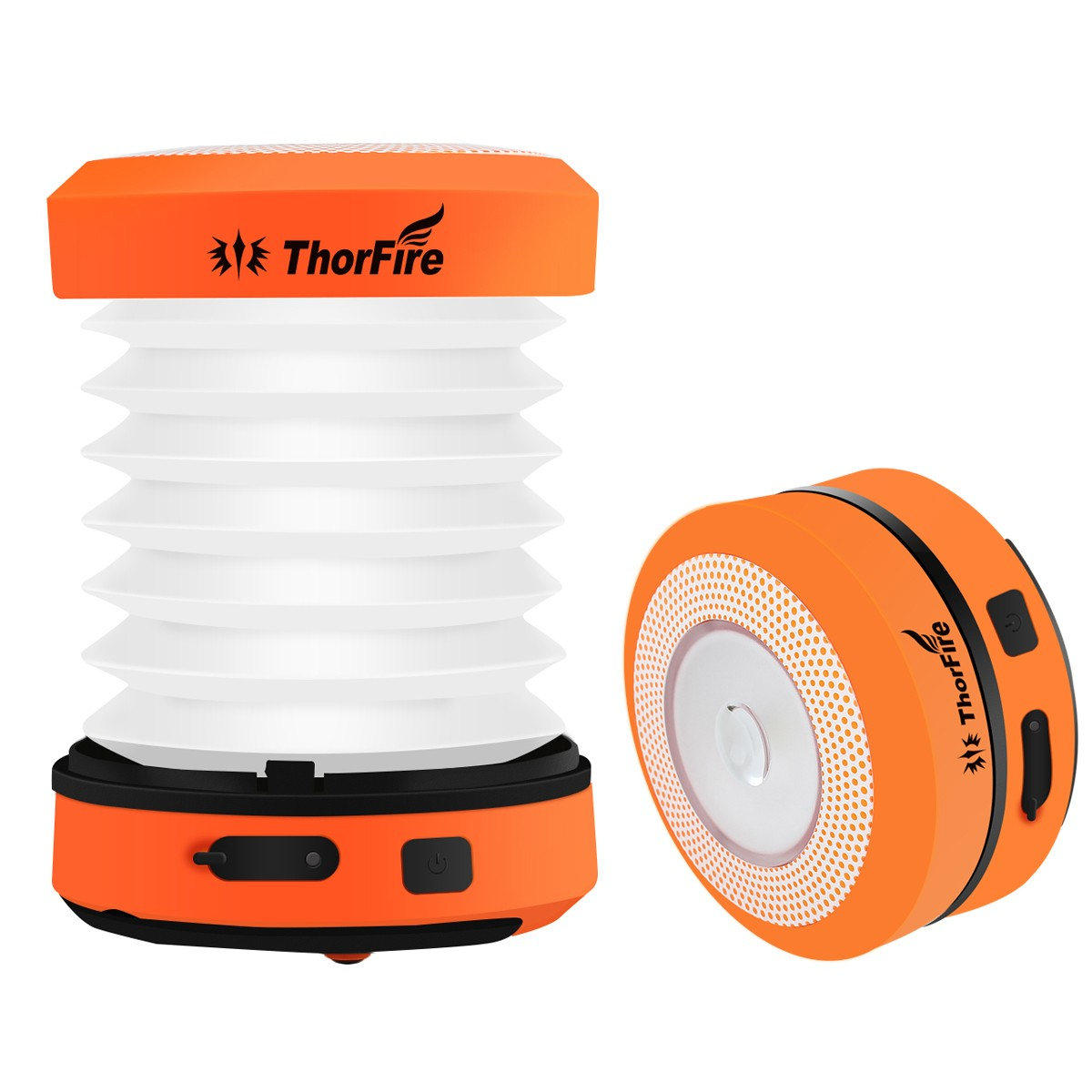 ThorFire 30-125LM LED Camping Lantern DC 5V USB Rechargeable Mini Flashlight Torch Light Lamp CL01 Collapsible Hand Crank Hiking rechargeable mini led hand crank solar powered flashlight torch emergency light for outdoor camping hiking cycling