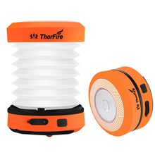 ThorFire 30-125LM LED Camping Lantern DC 5V USB Rechargeable Mini Flashlight Torch Light Lamp CL01 Collapsible Hand Crank Hiking(China)