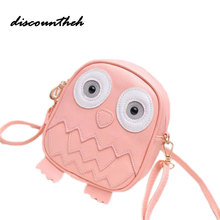 Fashion Women Bag Owl Women Messenger Bags Female Crossbody Shoulder Bag Cartoon Children Girls Bag Wallet Bolsa Feminina