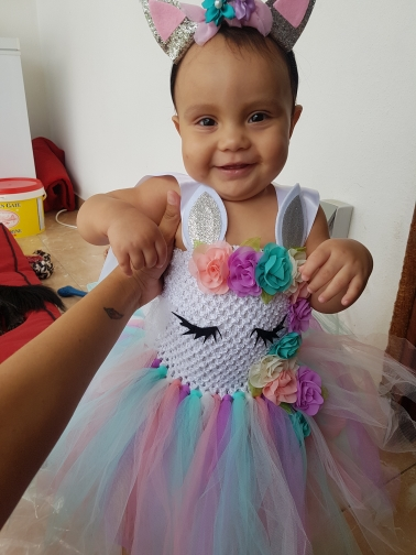 Unicorn Tutu Party Dresses photo review
