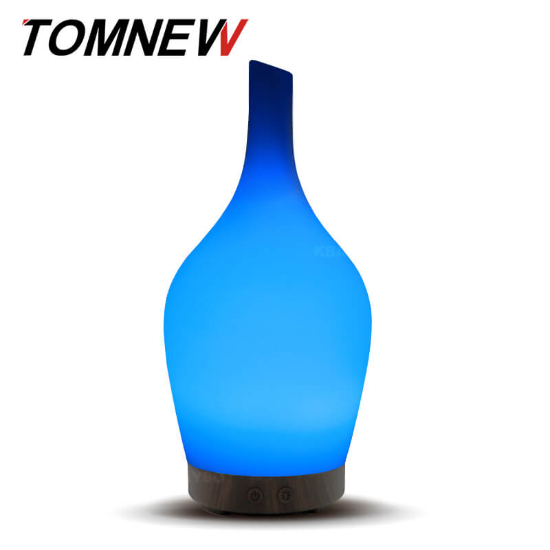 100Ml Aromatherapy Ultrasonic Essential Oil Diffuser Glass Aroma Diffuser For Essential Oils Cool Mist Humidifier Home