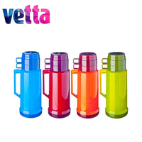 THERMOS VETTA 1L with 2 mug sale high quality travel fishing hunting house tableware discount dish set kitchen children 841 644