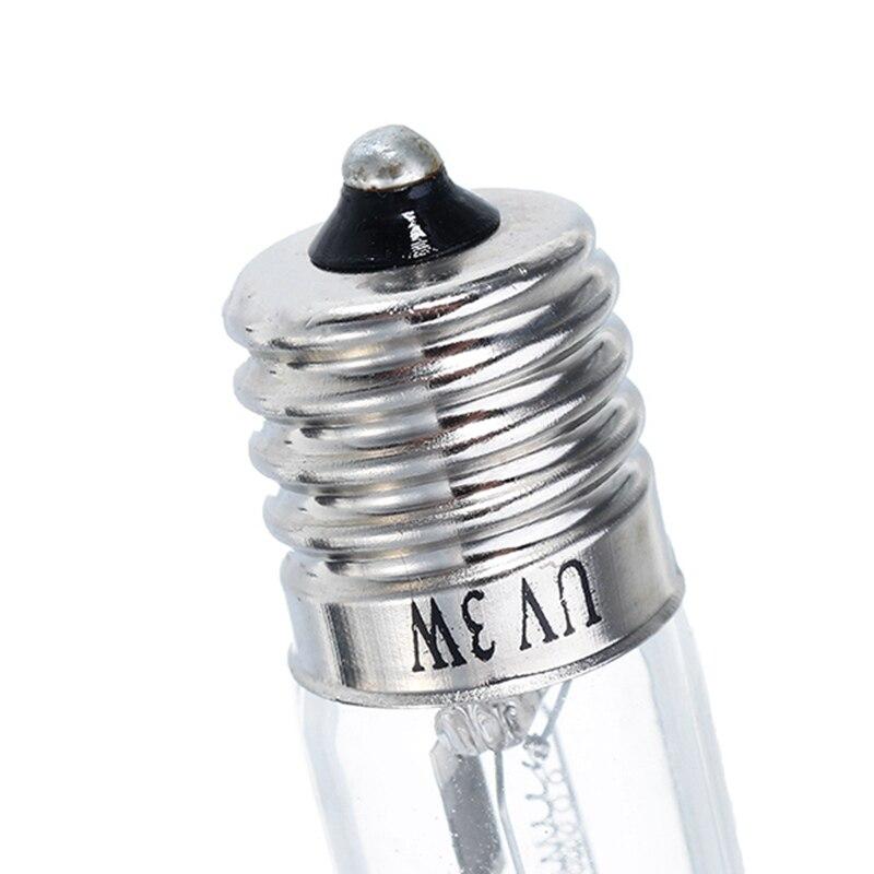 Mising E17 Ultraviolet Light Bulb Output DC24V 0.3A 3W UV Ozone Sterilizing Lamp AC100-240V