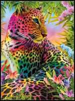 刺繍クロスステッチキットをカウン針仕事-クラフト 14 ct Dmc カラー DIY 芸術手作り装飾の野生色
