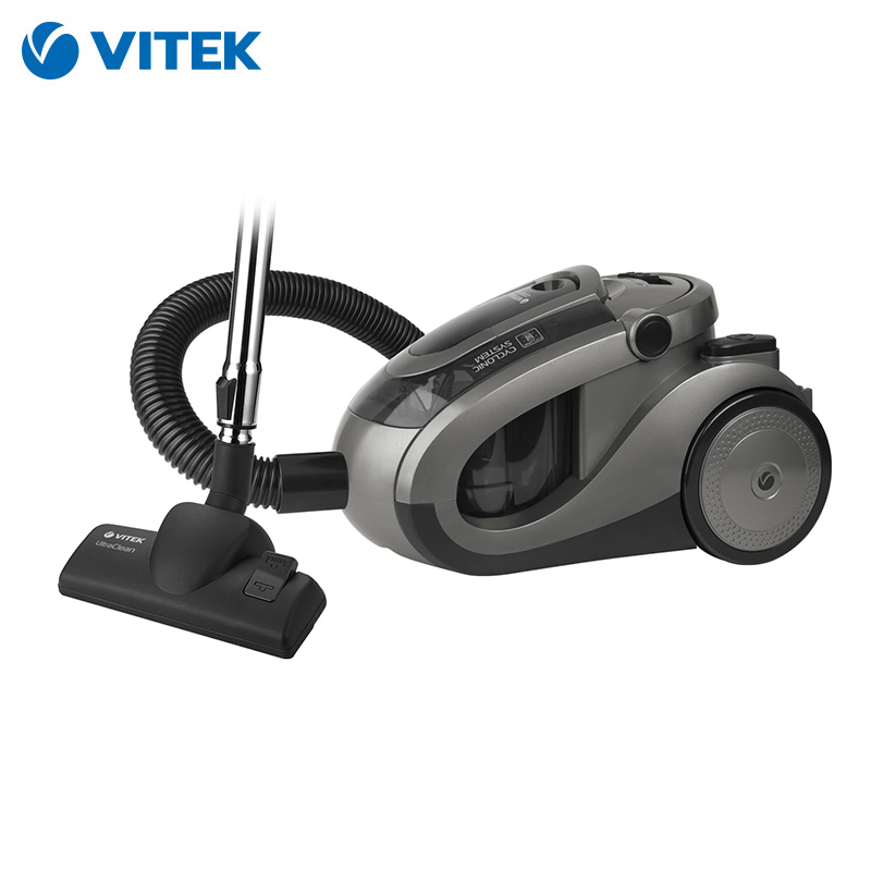 Vacuum cleaner Vitek VT-8111 dustcontainer cleaners for home vacuum cleaner vitek vt 1894 for home cyclone home portable household zipper
