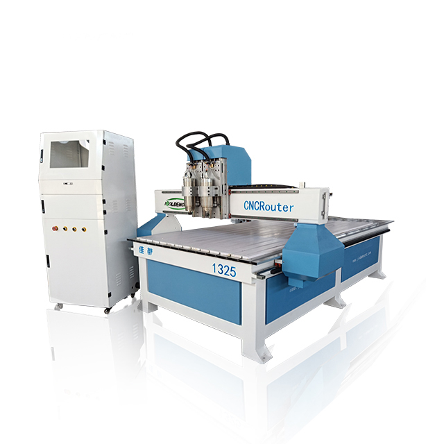 Separate Two Heads CNC Router 1325 3 Axis/4 Axis With Rotary For Wood Cutting Engraving Design Price