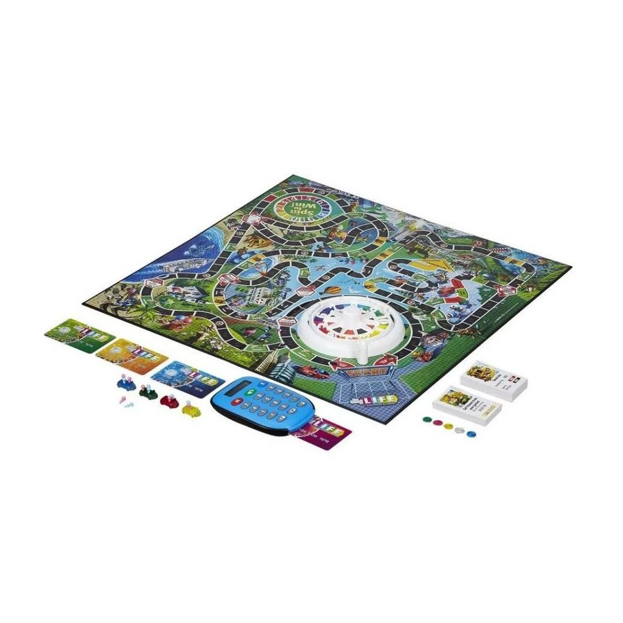Board Game Hasbro Games Playing life with bank cards A6769396