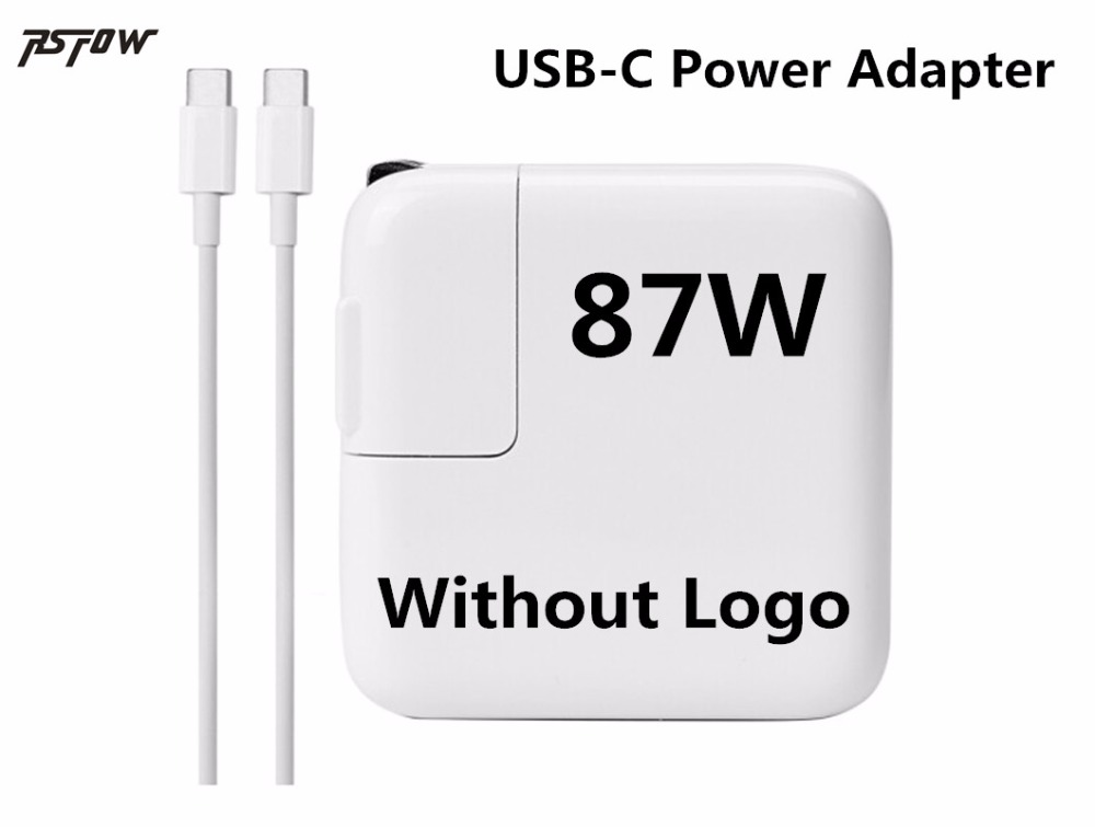 RsFow 87W USB C Power Adapter Type C Charger For Android ios Smart Phone For Macbook