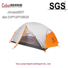 Outdoor Backpacking 2 Person Ultralight Hiking Tent 210t Fabric Double-Layer 3-Season Camping and beach Tent Light Weight Tent black hawk extreme super light weight only 870 grams of double layers 1 2 people mountain lightweight gauze tent