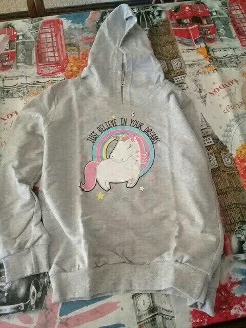 Unicorn Hoodie Pullover Sweatshirt photo review