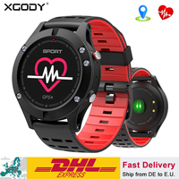 XGODY F5 Sport Smart Watch Heart Rate Monitor Outdoor Bluetooth GPS Digital Men Pedometer Waterproof SmartWatch For IOS Android