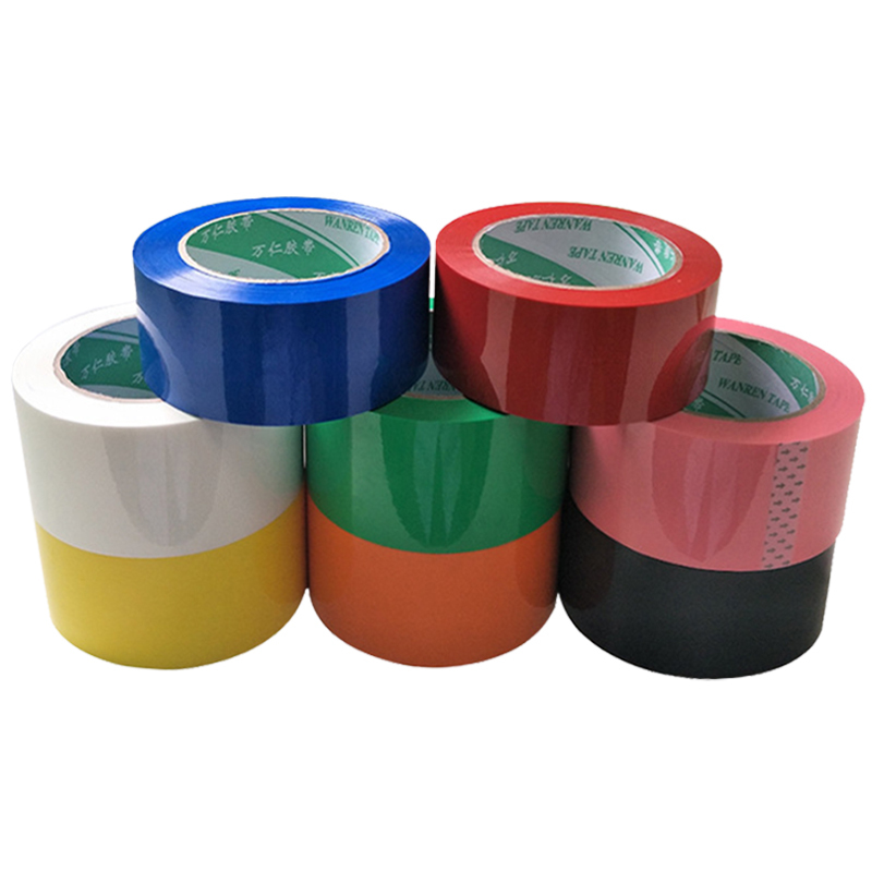 Decorative Tape 4.5cmx9,000mm Sealed Box Packing Adhesive Tape. Family Storage Colourful Transparent Scotch Drop Shipping