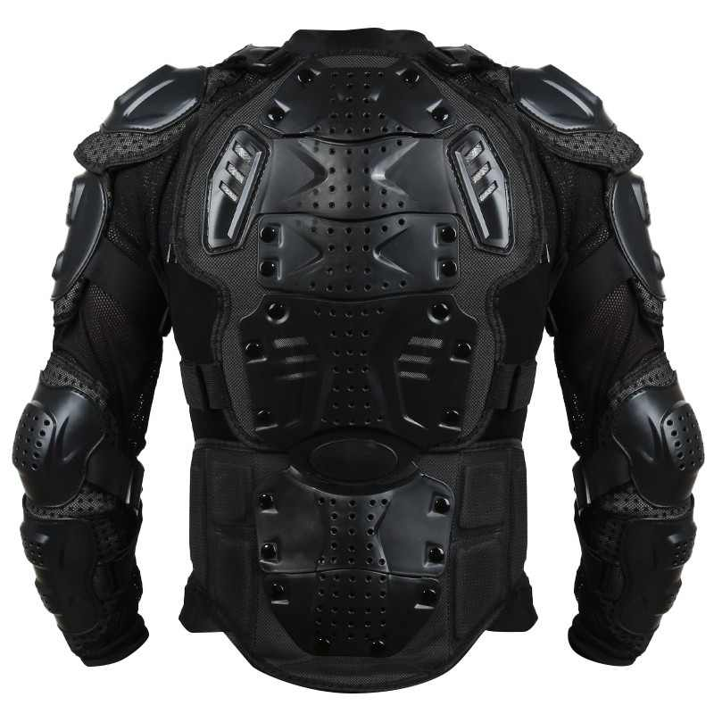 1X Men Full Body Armor Motorcycle Jacket Motorcross Racing Pit Bike Chest Gear Protective Shoulder Hand Joint Turtle S-XXXL