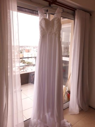 VIVIANS Свадебные Летние пикантные кружевные аппликации шифон пляж свадебное платье Boho Дешевые Robe De Mariage свадебное платье Casamento VB10