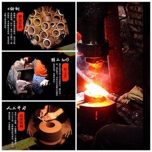 Image 5 - Couperet chinois couteaux de cuisine faits à la main, outils de cuisine de Chef, cadeau de noël tranchage de légumes et viande BBQ Camping en plein air