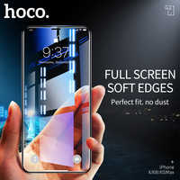 HOCO meilleur pour Apple iPhone X XS Max XR Full HD Film de verre trempé protecteur d'écran Protection 3D pleine couverture Protection d'écran