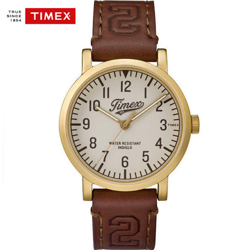 Timex Men Watch TW2P967 Quartz Leather Water Resistant Casual Simple Watches nobrand 967