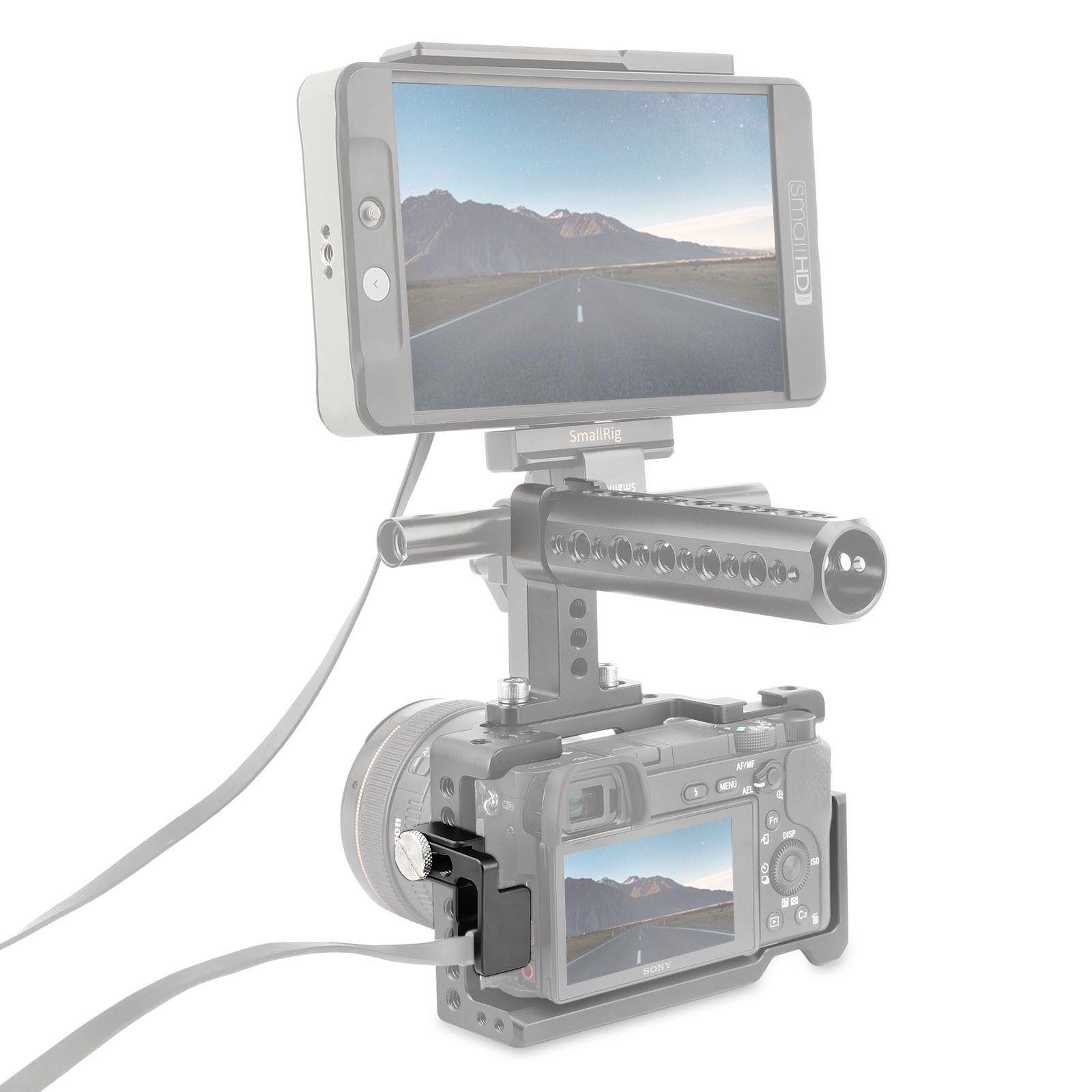SmallRig HDMI Kabelklemme für Sony A6500 A6300 A6000 kamera SmallRig ...