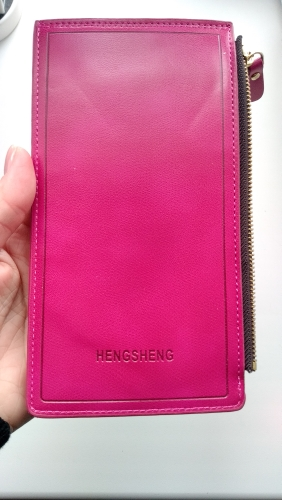 Bank ID Business Credit Card Holder Auto Car Document On Women Driving Cover Case Wallet Female Bag Purse Porte Carte Cardholder photo review