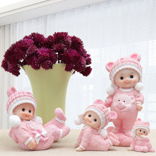 Cute babies ornaments figurine 4 sizes 2 colors Wedding Home