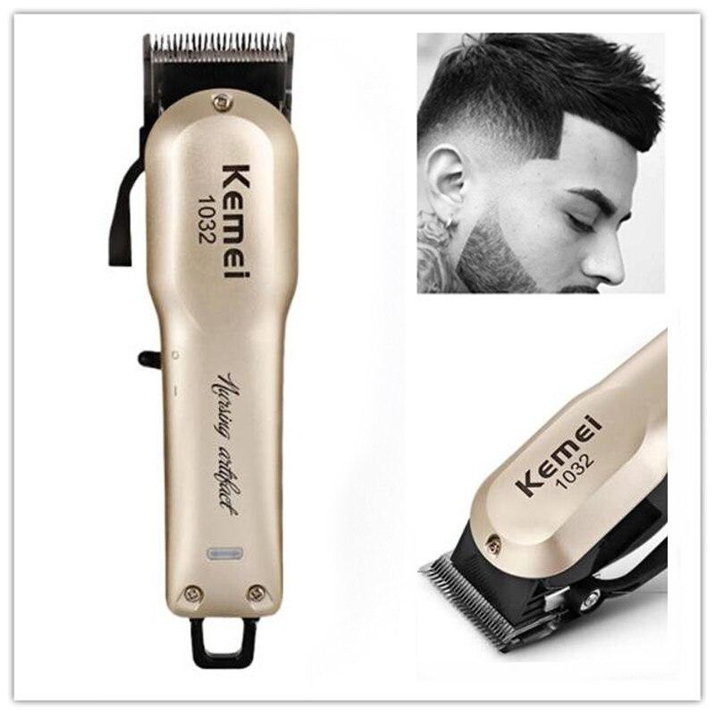 2018 New Kemei Professional Hair Clipper Electric Hair Trimmer Powerful Hair Shaving Machine Hair Cutting Beard Electric Razor 5