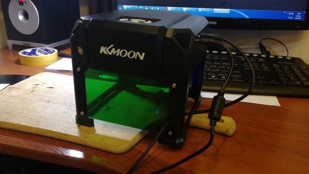 лазерный принтер HP ; мини ЧПУ; декор древесины; зеленый лазер;