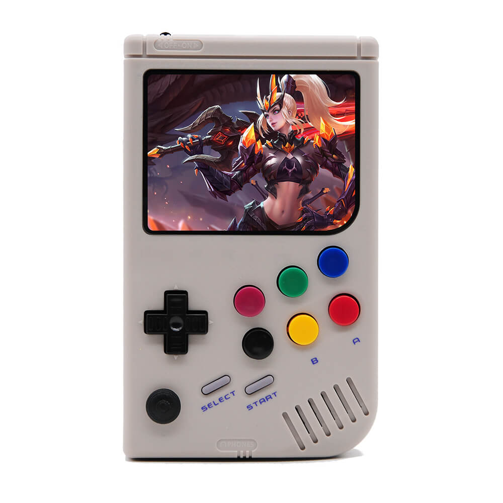 LCL-Pi Handheld Game Console Raspberry Pi 3B/B+ Retro Video Game Player with 3.5 Inch IPS Screen Built-in 10000 Games
