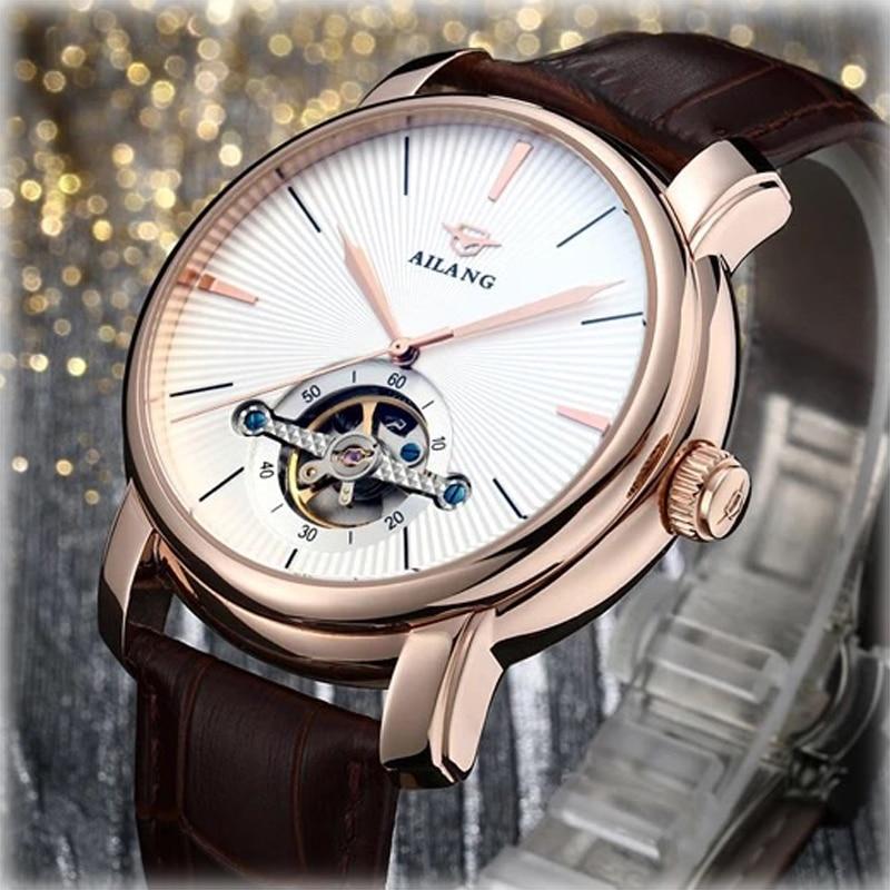 Luxury Watch Men AILANG Sapphire Business Automatic Watch for Men Clock Wristwatch Waterproof Men's Watch Montre Homme luxury aluminum watch