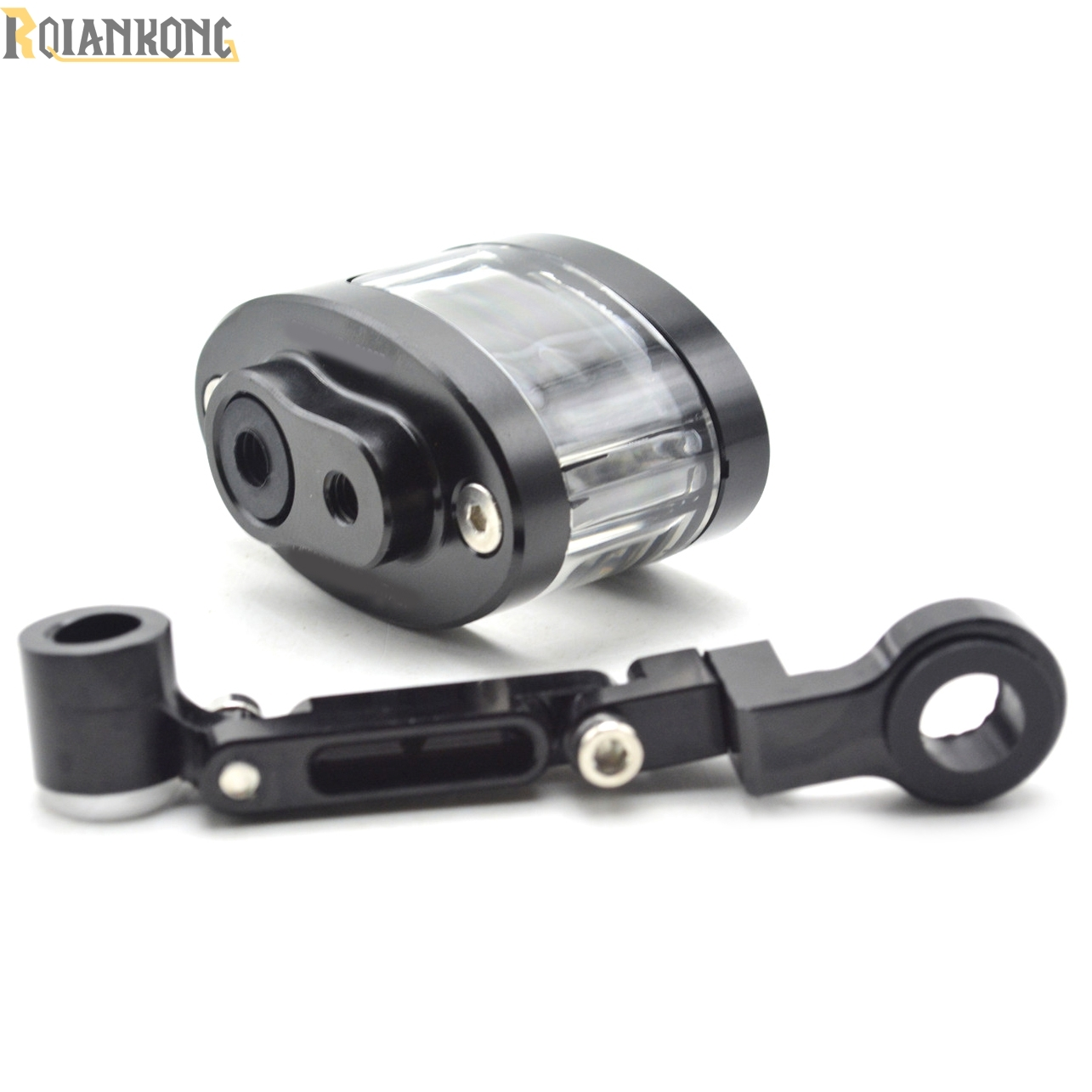 Hot!!New! Motorcycle Brake Fluid Reservoir Oil Tank have mounting kit For Ducati 1000SS 916 916SPS 996 998 999 B S R Diavel