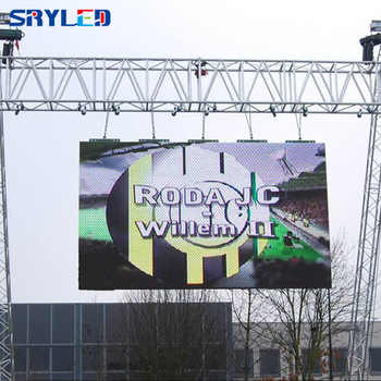 Outdoor P3.91 led display moving rental led video wall