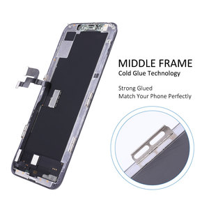 Image 4 - Elekworld Grade For AMOLED Tested Work Well LCDs For iPhone X XS LCD Display With 3D Touch Screen Digitizer Assembly Parts