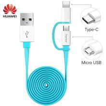 Original 2 in 1 Micro USB Typc C Cable H